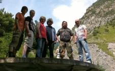 ГАСТРОЛИ . В горах Осетии. Лето 2011.